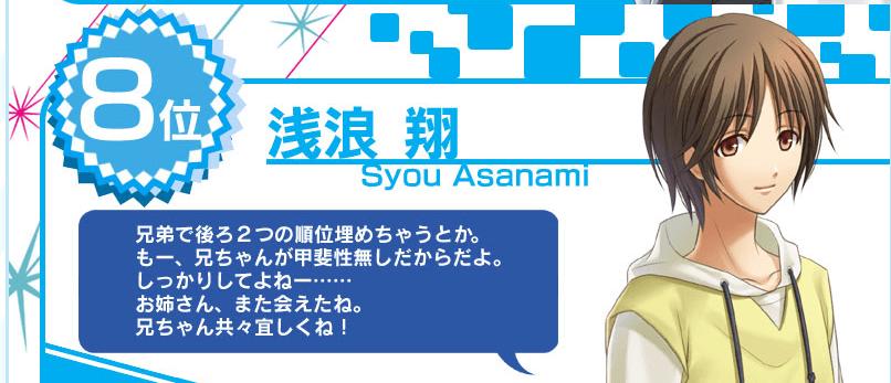 浅浪 翔(CV:水口まつり)