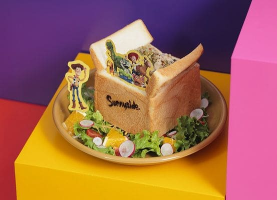 おもちゃ箱クリームシチューパン